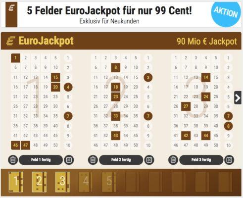 tipp24 gutschein eurojackpot