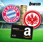 *DFB-Pokal Finale!* bwin-Kracher: 10€ einsetzen + 20€ Amazon.de-/BestChoice-Gutschein sichern (Neukunden)