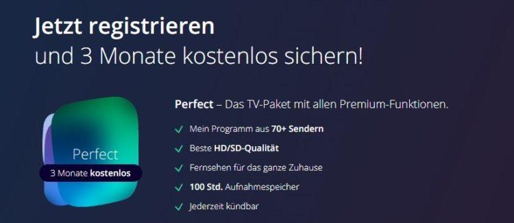waipu.tv Perfect 3 Monate