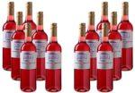 12 Flaschen Calle Principal Tempranillo-Merlot Rosé Vino de la Tierra Castilla für 39,99€