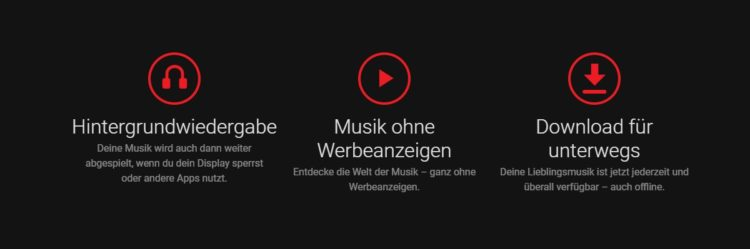 YouTube Music Features