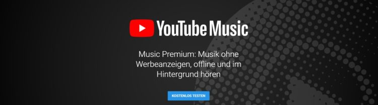 YouTube Music testen