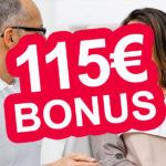 ERGO Direkt: Privatpatient beim Zahnarzt + 115€ Bonus