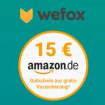 *Letzte Chance* GRATIS: 12 Monate Haftpflichtversicherung + 15€ Amazon.de Gutschein *verlängert*
