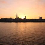 Antwerpen_Sonnenuntergang