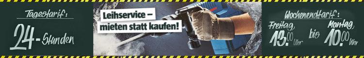 Bauhaus Leihservice