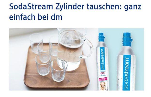 Sodastream Zylinder Wechseln Kosten