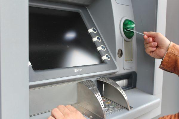 Geld abheben Visa