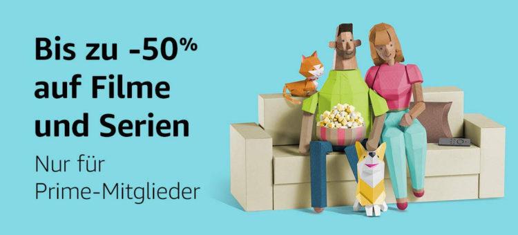 Prime Day 50 Prozent Filme Serien