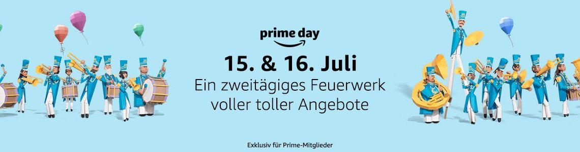 Prime day 2019 Banner