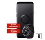 *Knaller* Samsung Galaxy S9 (Plus) + Gear S3 Classic mit 113€ Ersparnis + effektiv GRATIS: Allnet-Flat mit 1GB (Telekom/Vodafone)