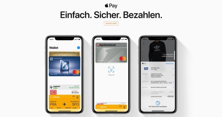 Apple Pay kommt bald