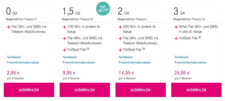 besten prepaid tarife 2019