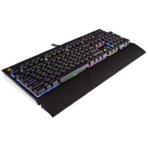 Corsair STRAFE CHERRY MX RGB Silent USB Deutsch schwarz (kabelgebunden) Titelbild