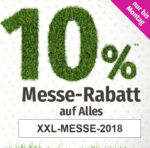GartenXXL Messe-Rabatt
