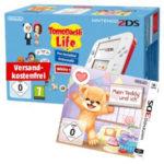 Media Markt Gönn Dir Dienstag - z.B. NINTENDO 2DS Rot/Weiß + Tomodachi Life + Mein Teddy und ich (Nintendo 3DS) für 65€ (statt 85€ + 15€)