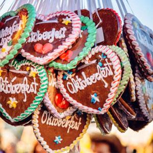 Oktoberfest-herzen