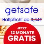 GRATIS: 12 Monate Getsafe Haftpflichtversicherung kostenlos (täglich kündbar, optional: Drohne + Familie)
