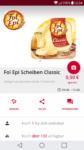 €0,50 Cashback auf Fol Epi Scheiben Classic (Scondoo)