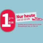 1-Euro-Flug
