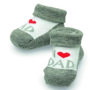 I-love-Dad-Socken