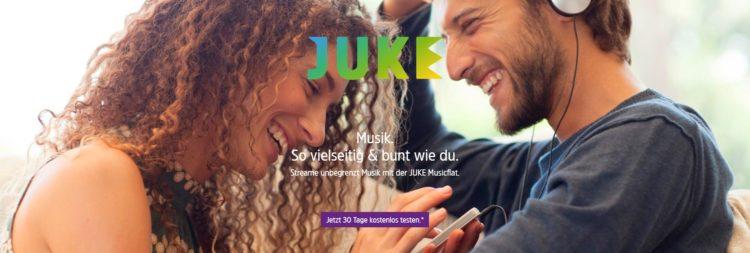 JUKE – unbegrenzt Musik streamen