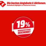 *Kracher* MediaMarkt schenkt euch die Mehrwertsteuer - 19% auf ALLES, Nintendo Switch, PS4, TVs, u.v.m.!