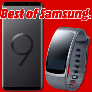 Media Markt MD Comfort Allnet Samsung Galaxy S9 Gear Fit 2 Angebot