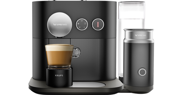 Mini Kühlschrank Expert : ☕ krups xn nespresso expert milk kapselmaschine für u ac
