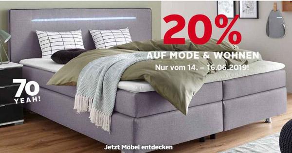 🛏 OTTO: 20% auf Home & Living, z.B. Tom Tailor Bettwäsche