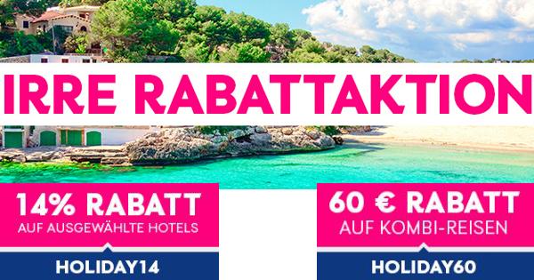 ebookers rabatt hotel