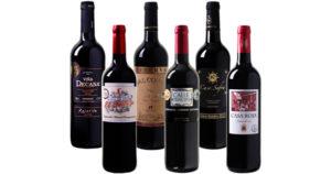 Rotwein-Weinvorteil