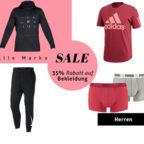Sale-Herrenbekleidung