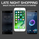 Saturn Smartphone Late Night Shopping, z.B. Apple iPhone 6s Plus (Gold/32GB) für 429€ (statt 517€)