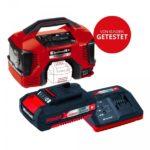 Einhell Pressito Power X-Change Hybrid-Kompressor inkl. Starter Kit Akku und Ladegerät 18 V, 1,5 Ah für 89 € statt 108,27 €