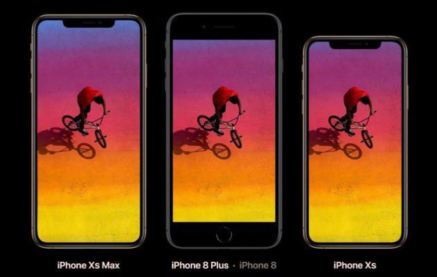 iPhoneXs Vergleich