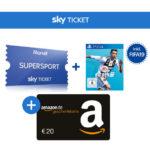*Heute: Bundesliga!* 20€ Bonus für FIFA 19 (PS4) + Sky Supersport Ticket für 59,99€