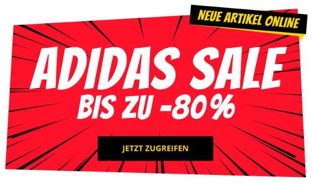 adidas: Bis zu 80% Rabatt bei SportSpar, z.B. EQT Sneaker ab