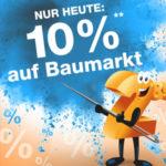 10-Prozent-Baumarkt