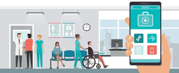 Gesundheits App Krankenhaus
