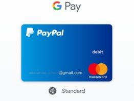 Google Pay PayPal MasterCard