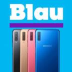 Handyflash Samsung Galaxy A7 Blau Allnet L Titelbild
