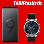 *Nur noch heute* Samsung Galaxy S9 Plus / oder S9 + Gear S3 Classic / Frontier mit bis zu 145€ Ersparnis + effektiv GRATIS: Allnet-Flat mit 1GB (19,99€/Monat)