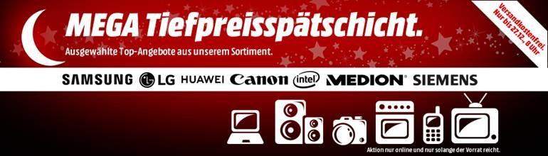 Mediamarkt Mega Tiefpreisspätschicht Elektronik Bt Lautsprecher