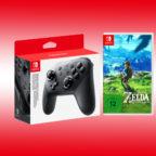Nintendo Switch Pro Controller Zelda Titel