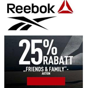 0bed0ed658b6 Reebok Friends   Family Sale mit 25% Rabatt - Auch im Outlet!