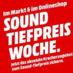 MediaMarkt Sound-Tiefpreiswoche, z.B LG SJ8, Smart Soundbar für 279€ (statt 342€)