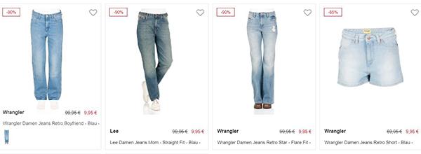 d44f80c17d89 Jeans Direct  Wrangler Jeans schon ab 19,95€