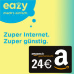 BaWü, NRW, Hessen: eazy Internet für 9,99€ mtl. + WLAN-Router für 0€ + 24€ Amazon-Gutschein *bis 24.10.*