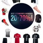 20-70% Rabatt bei 11teamsports